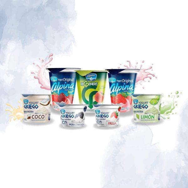 etiquetas de productos alimenticios – lácteos